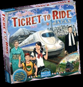 TICKET TO RIDE JAPAN/ITALY NL