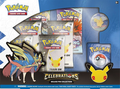 Celebrations Deluxe Pin Collection Pokemon TCG